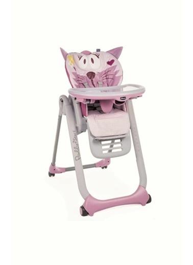 Chicco Polly 2 Start Miss Pink Mama Sandalyesi Renkli